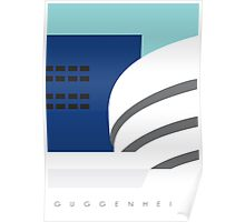 GUGGENHEIM, New York Poster