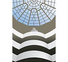 Guggenheim Museum interior Photographic Print