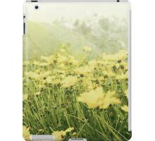 yellow Flowers Portrait iPad Case/Skin