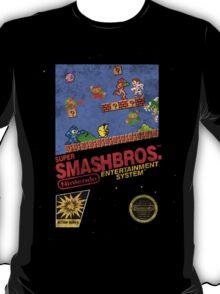"Distressed Super Smash Bros. ""Retrofied"" T-Shirt"