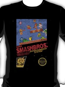 "Distressed Super Smash Bros. ""Retrofied"" T-Shirt"