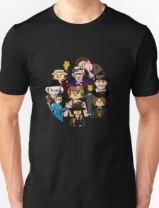 doctor who timeline no background T-Shirt