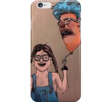 SAD CLOWN BALLOON  iPhone Case/Skin