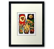 The Letter M Framed Print