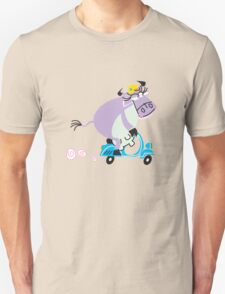 Cool Cow Riding A Vespa!!! T-Shirt