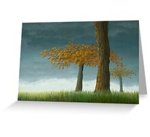 Quercus corymbion Greeting Card