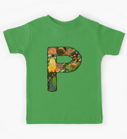 The Letter P Kids Tee