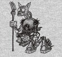Mecha Piggy One Piece - Short Sleeve