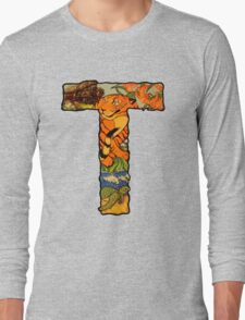 The Letter T Long Sleeve T-Shirt