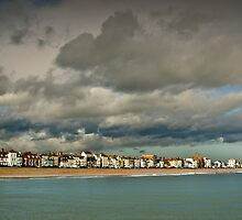 View of North Deal from the Pier by Chris Martin