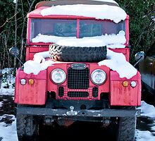 Red Landrover by Chris Martin