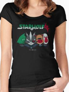 star wolf 64 Women's Fitted Scoop T-Shirt