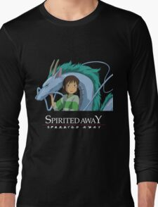 Spirited Away Chihiro and Haku-Studio Ghibli Long Sleeve T-Shirt