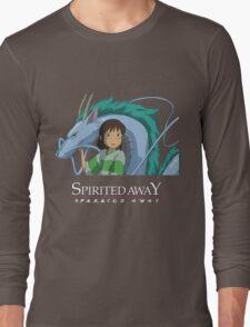 Spirited Away Chihiro and Haku-Studio Ghibli Long Sleeve T-Shirt