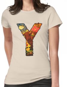 The Letter Y Womens Fitted T-Shirt