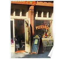 South Street Seaport Pizzeria Poster