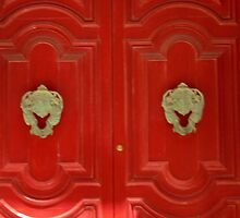 Maltese red door by Dansam1