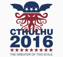 Vote Cthulhu 2016 by David Ayala