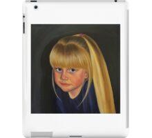 Self portrait as a child iPad Case/Skin
