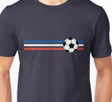 Football Stripes France Unisex T-Shirt