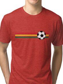 Football Stripes Ghana Tri-blend T-Shirt
