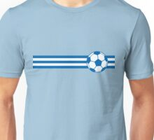 Football Stripes Greece Unisex T-Shirt