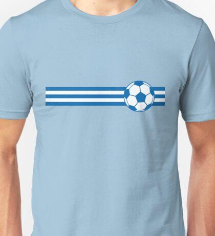Football Stripes Greece Unisex T-Shirt