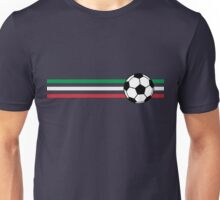 Football Stripes Italy Unisex T-Shirt