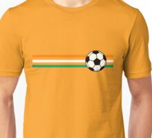 Football Stripes Ivory Coast Unisex T-Shirt