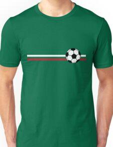 Football Stripes Mexico Unisex T-Shirt
