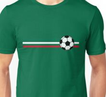 Football Stripes Mexico Unisex T-Shirt