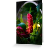 Surreal Flower Greeting Card