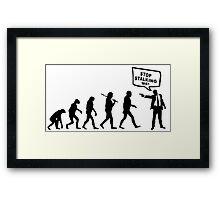 Evolution Stalker Framed Print