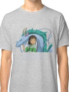 Spirited Away Chihiro and Haku-Studio Ghibli Classic T-Shirt