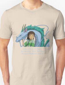 Spirited Away Chihiro and Haku-Studio Ghibli T-Shirt