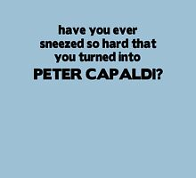 Fun fact: sneezing will turn you into Peter Capaldi T-Shirt