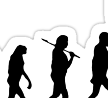 Evolution Stalker Sticker
