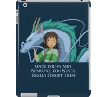 Spirited Away Chihiro and Haku-Studio Ghibli iPad Case/Skin