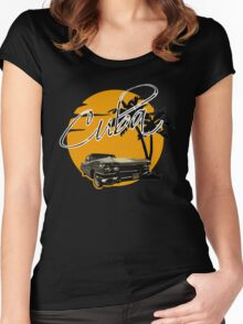 Cadillac - Cuba Women's Fitted Scoop T-Shirt
