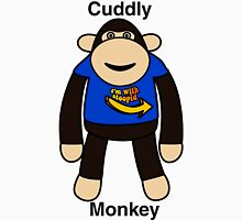 Cuddly Monkey  Unisex T-Shirt