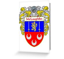 McLaughlin Coat of Arms/Family Crest Greeting Card