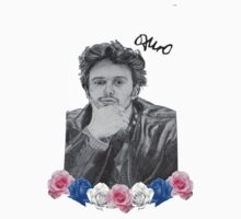 James Franco T-shirt sticker by RockandRoll Maker