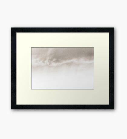 sunset experiment - 3 Framed Print