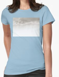 sunset experiment - 3 Womens Fitted T-Shirt