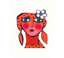 Dotty Annie  Art Print
