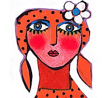 Dotty Annie  Photographic Print