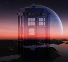 Space Tardis by Johindes
