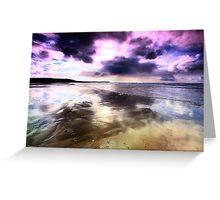 Elements - The purple fringe Greeting Card