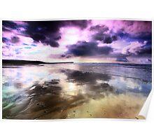 Elements - The purple fringe Poster