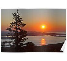 Cadillac Sunrise Poster